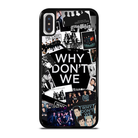 WHY DON'T WE BAND COLLAGE iPhone X / XS Case Cover