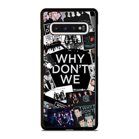 WHY DON'T WE BAND COLLAGE Samsung Galaxy S10 Case Cover