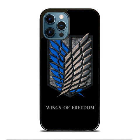 WINGS OF FREEDOM AOT iPhone 12 Pro Max Case Cover