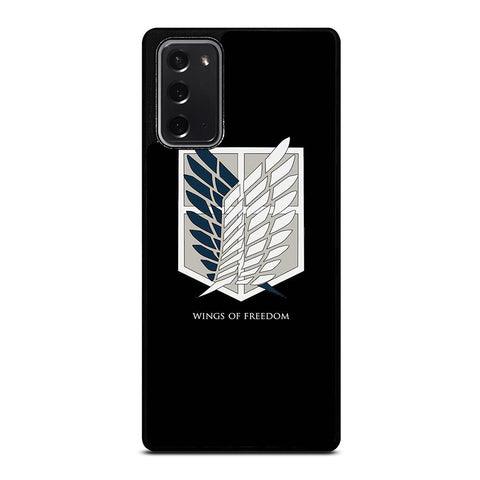 WINGS OF FREEDOM ATTACK ON TITAN SYMBOL Samsung Galaxy Note 20 Case Cover