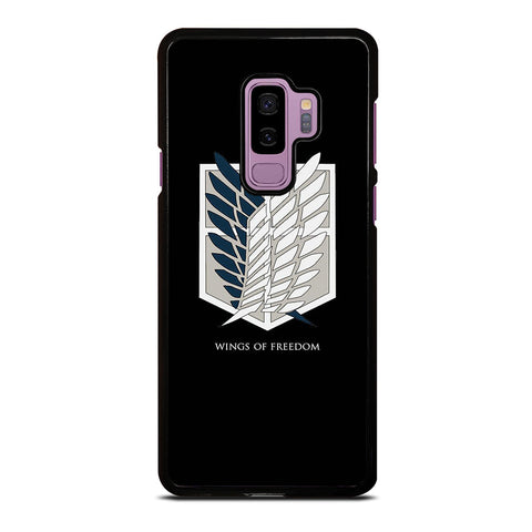 WINGS OF FREEDOM ATTACK ON TITAN SYMBOL Samsung Galaxy S9 Plus Case Cover