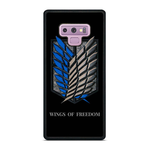 WINGS OF FREEDOM AOT Samsung Galaxy Note 9 Case Cover
