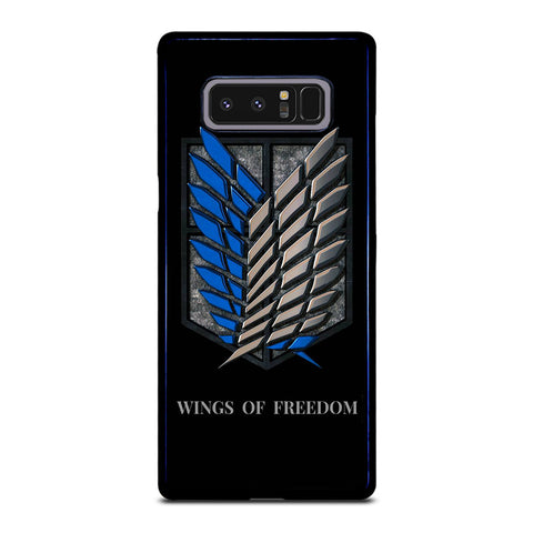 WINGS OF FREEDOM AOT Samsung Galaxy Note 8 Case Cover