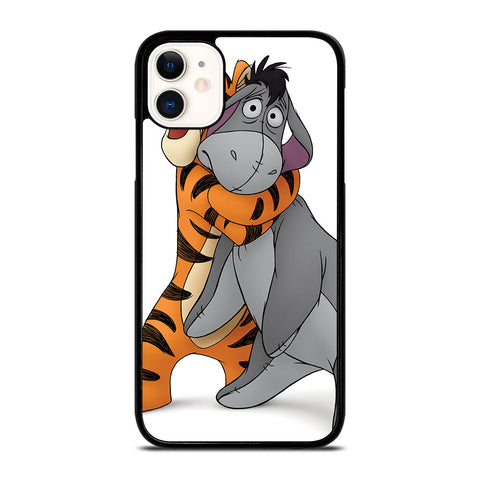 WINNIE THE POOH EEYORE AND TIGER iPhone 11 Case Cover