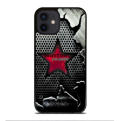 WINTER SOLDIER LOGO MARVEL iPhone 12 Mini Case Cover