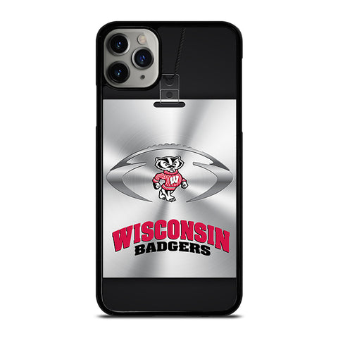 WISCONSIN BADGER NFL iPhone 11 Pro Max Case Cover
