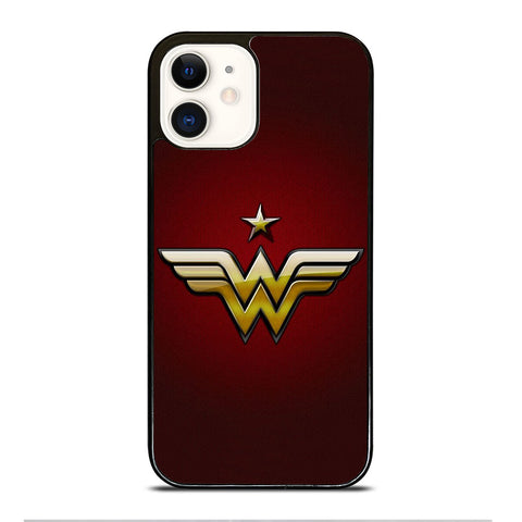 WONDER WOMAN LOGO DC iPhone 12 Case Cover
