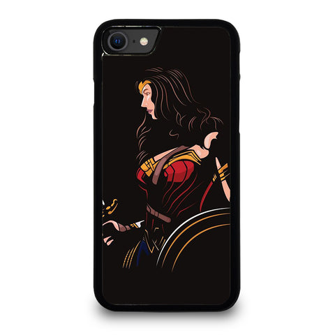 WONDER WOMAN ART iPhone SE 2020 Case Cover