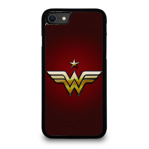 WONDER WOMAN LOGO DC iPhone SE 2020 Case Cover