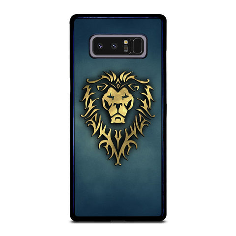 WORLD OF WARCRAFT  LOGO Samsung Galaxy Note 8 Case Cover