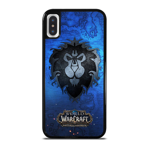 WORLD OF WARCRAFT ALLIANCE iPhone XS Max Case Cover