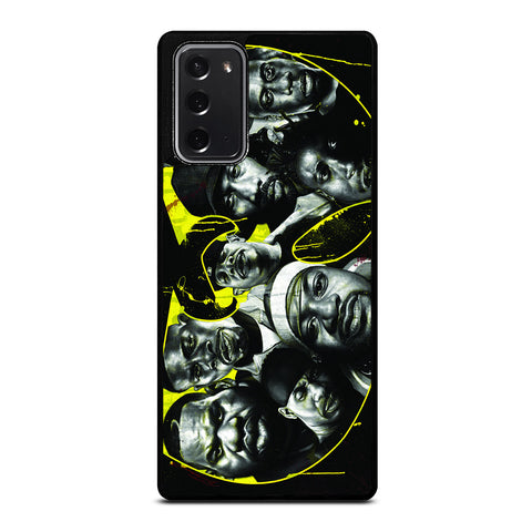 WUTANG CLAN PERSONEL Samsung Galaxy Note 20 Case Cover