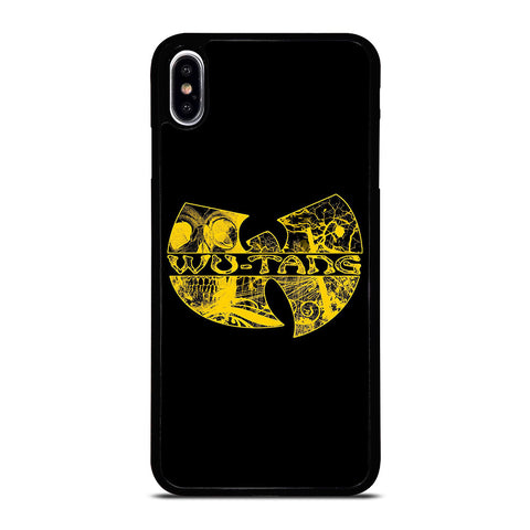 WUTANG CLAN LOGO-iphone-xs-max-case-cover