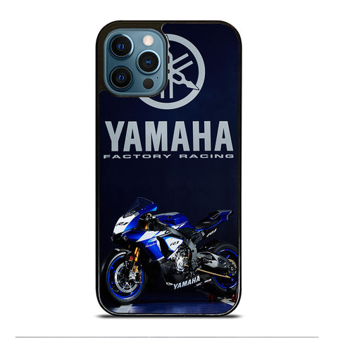 YAMAHA FACTORY RACING iPhone 12 Pro Max Case Cover