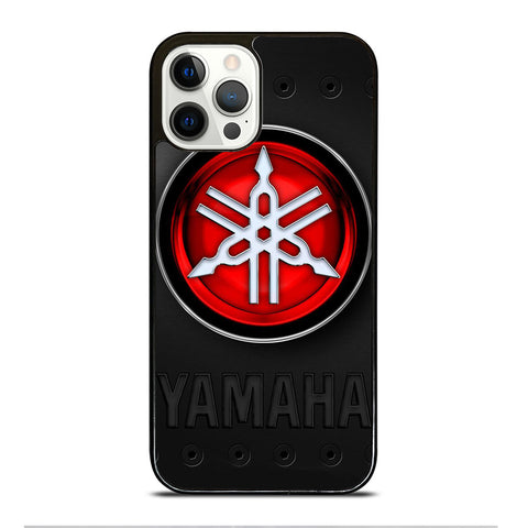 YAMAHA METAL LOGO iPhone 12 Pro Case Cover