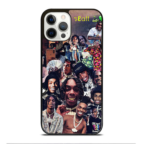 YNW MELLY COLLAGE iPhone 12 Pro Case Cover