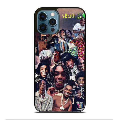 YNW MELLY COLLAGE iPhone 12 Pro Max Case Cover