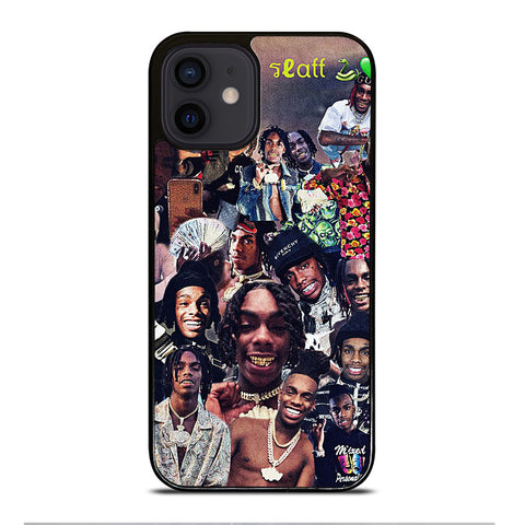 YNW MELLY COLLAGE iPhone 12 Mini Case Cover