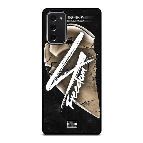 YOUNGBOY NBA 4 FREEDOM Samsung Galaxy Note 20 Case Cover