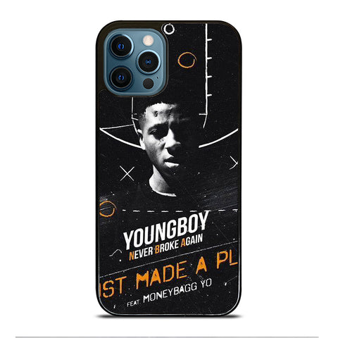 YOUNGBOY NBA RAPPER 3 iPhone 12 Pro Max Case Cover