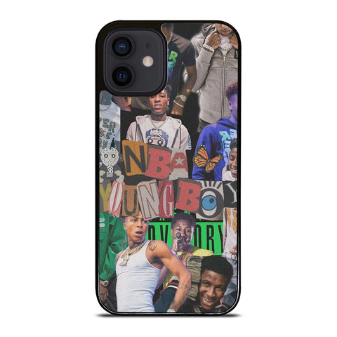 YOUNGBOY NEVER BROKE AGAIN NBA COLLAGE iPhone 12 Mini Case Cover