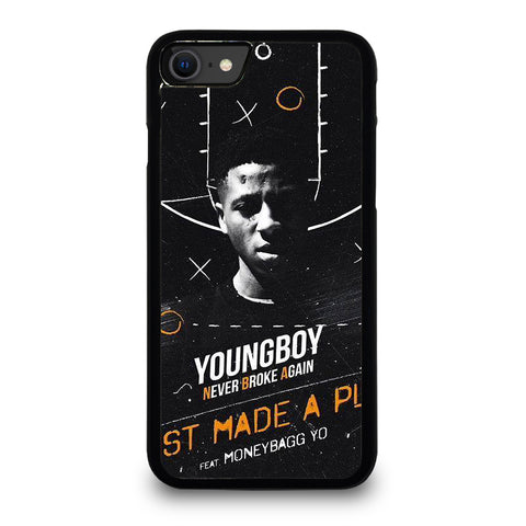 YOUNGBOY NBA RAPPER 3 iPhone SE 2020 Case Cover