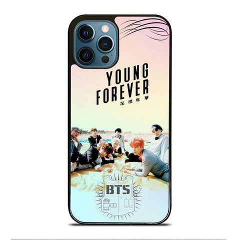 YOUNG FOREVER BANGTAN BOYS BTS iPhone 12 Pro Max Case Cover