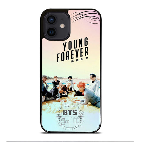 YOUNG FOREVER BANGTAN BOYS BTS iPhone 12 Mini Case Cover