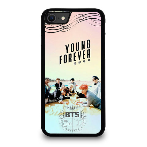 YOUNG FOREVER BANGTAN BOYS BTS iPhone SE 2020 Case Cover