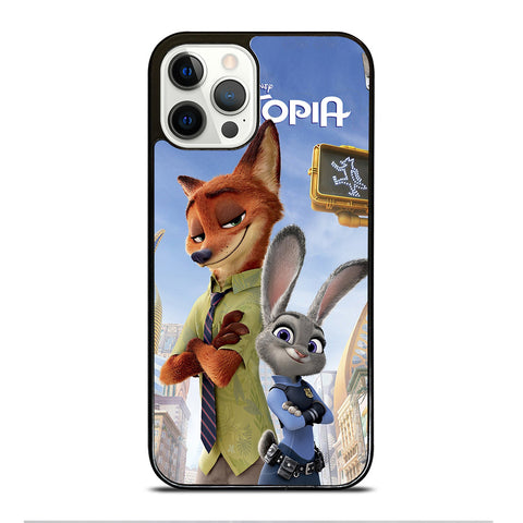 ZOOTOPIA NICK AND JUDY DISNEY iPhone 12 Pro Case Cover