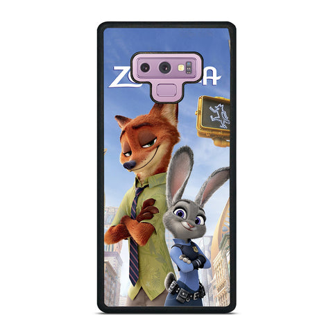 ZOOTOPIA NICK AND JUDY DISNEY Samsung Galaxy Note 9 Case Cover