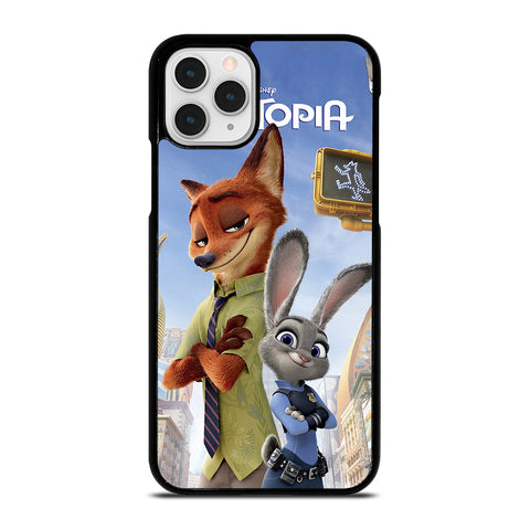 ZOOTOPIA NICK AND JUDY DISNEY iPhone 11 Pro Case Cover