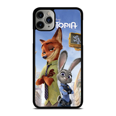 ZOOTOPIA NICK AND JUDY DISNEY iPhone 11 Pro Max Case Cover