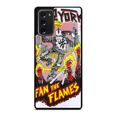 ZOO YORK FAN THE FLAMES Samsung Galaxy Note 20 Case Cover