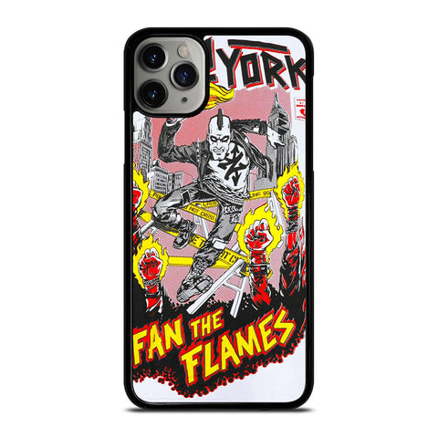 ZOO YORK FAN THE FLAMES iPhone 11 Pro Max Case Cover