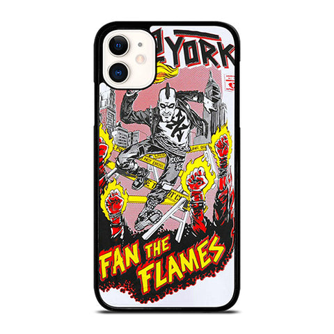 ZOO YORK FAN THE FLAMES iPhone 11 Case Cover