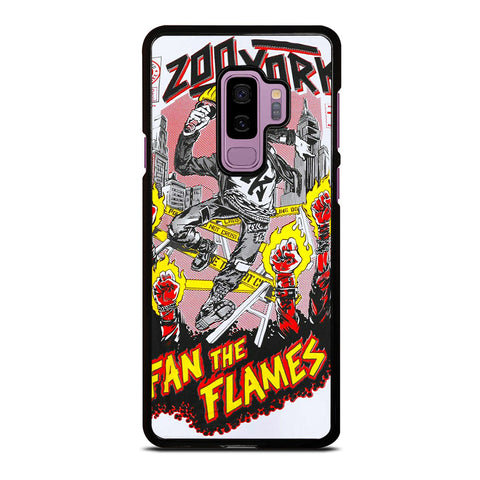 ZOO YORK FAN THE FLAMES Samsung Galaxy S9 Plus Case Cover