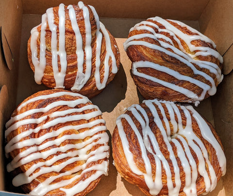 Cinnamon Rolls Box - THURSDAY DELIVERY ONLY