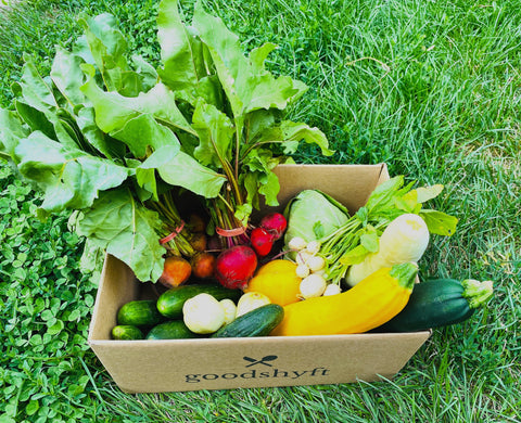Golden Acre Farm CSA Box