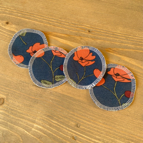 Poppy Reusable Face Pads
