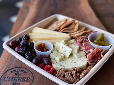 CHEESE + MEAT PLATE FOR TWO