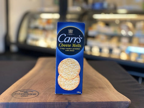 CARR'S CHEESE MELT CRACKERS