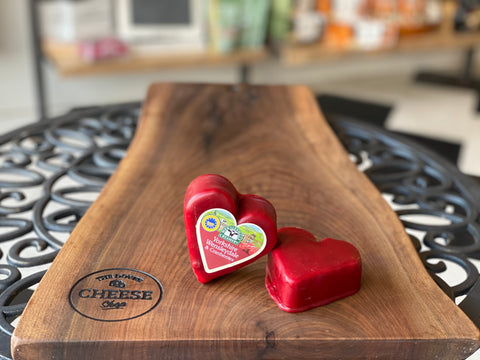 HEART SHAPED CRANBERRY WENSLEYDALE
