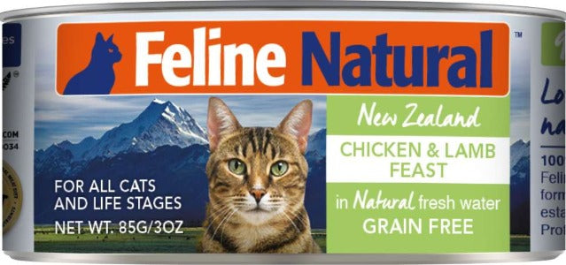 Feline Natural Canned Chicken & Lamb