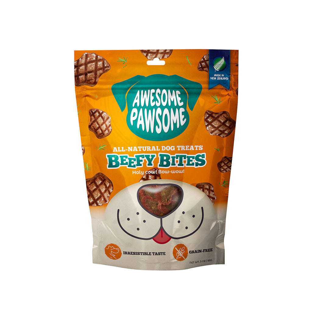 Awesome Pawsome Beefy Bites - 85g