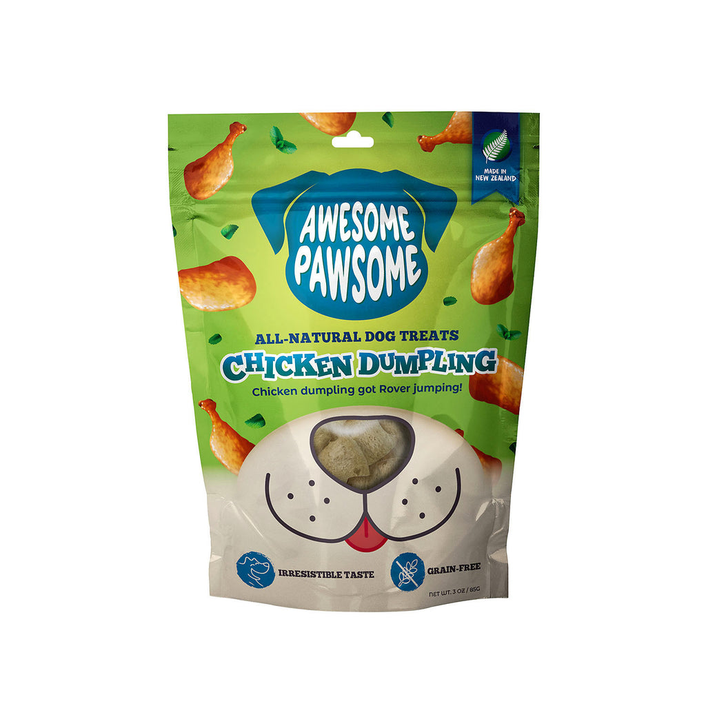 Awesome Pawsome Chicken Dumplings - 85g