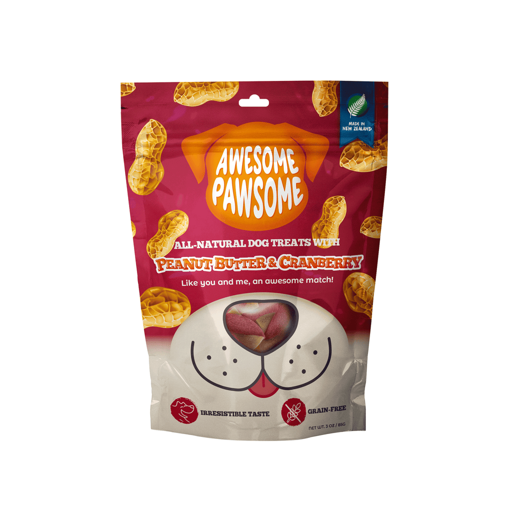 Awesome Pawsome Peanut Butter & Cranberry - 85g