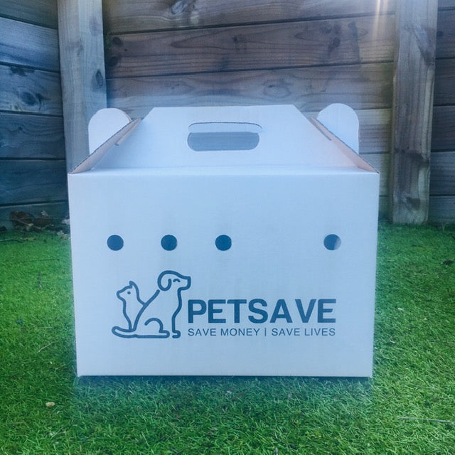 PetSave Cardboard Pet Carrier