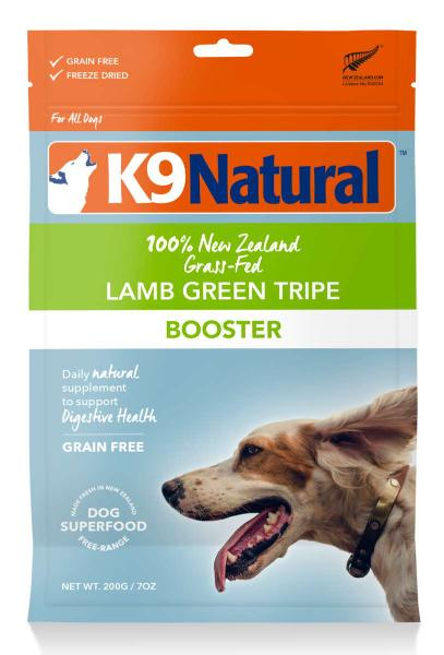 K9 Natural Lamb Green Tripe 200g