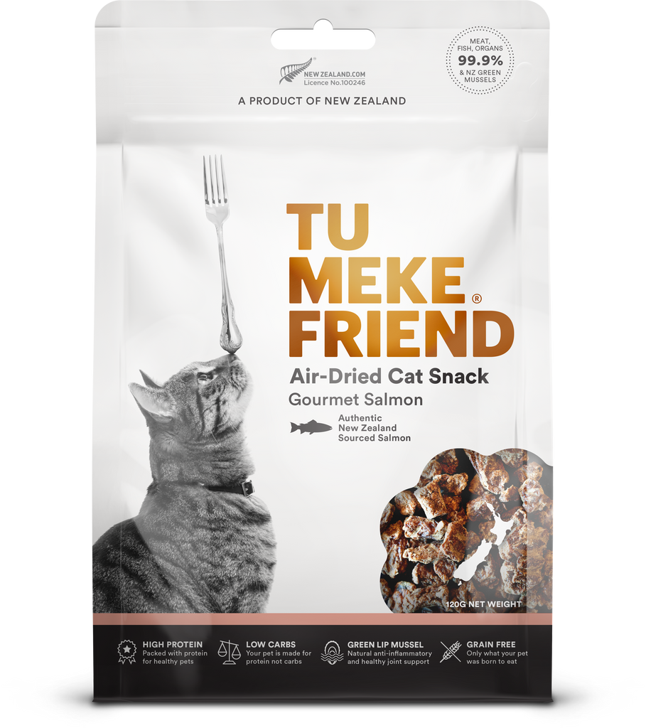 Tu Meke Friend Air-Dried Cat Snack - Salmon
